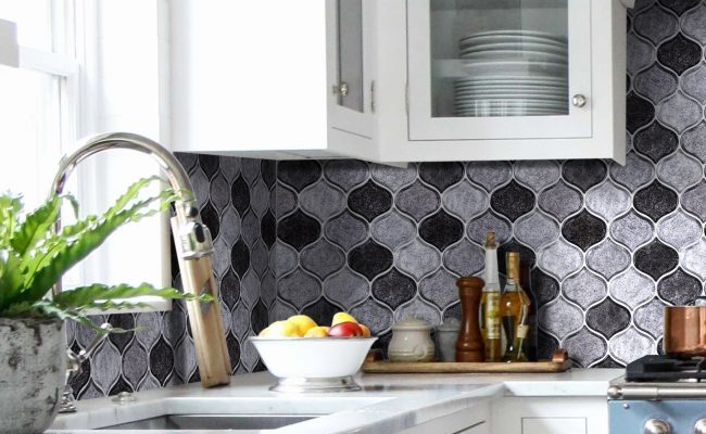 kitchen design white Elegant Subway Tile Subway Tile Backsplash